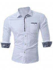 Chest Pocket Slim Fit Shirt