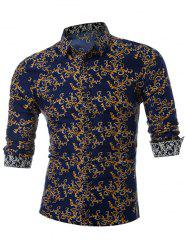 All Over Printed Casual Shirt -