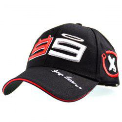Number Graph Embellished Baseball Cap