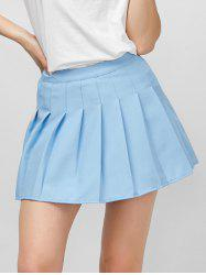 High Rise Pleated Pantskirt