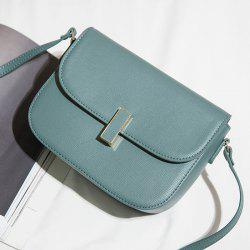Flap PU Leather Cross Body Bag