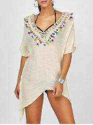 Asymmetric Crochet Cover-Up