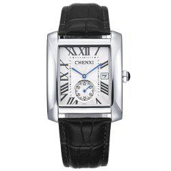 CHENXI Roman Numerals Analog Rectangle Watch