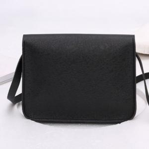 Envelope Cross Body Mini Bag - BLACK