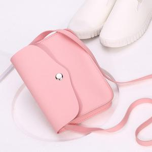 Envelope Cross Body Mini Bag - PINK