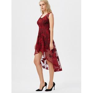 Robe en dentelle haut papillon Low + Cami Dress - Rouge 2XL