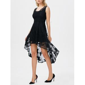 High Low Butterfly Gothic Lace Carpet Skater Party Dress
