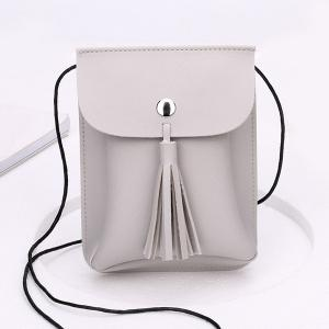 Tassel Mini Cross Body Bag
