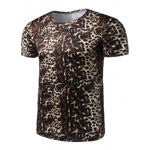 Short Sleeve Leopard T-Shirt