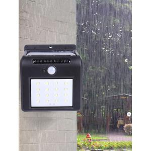 16 LEDs Solar Powered Motion Sensor Waterproof Yard Wall Light