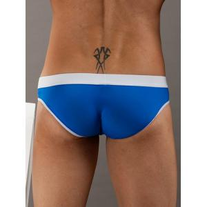 Pouch design Color Block Voile Briefs panneau -