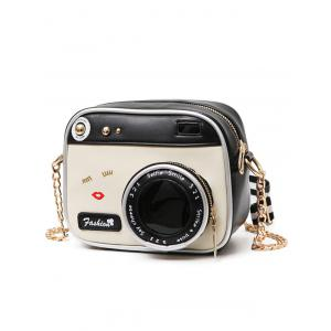 Chains Camera Shaped Cross Body Bag -