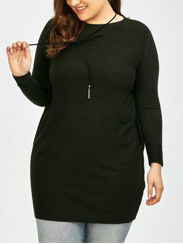 Plus Size Knitted Top