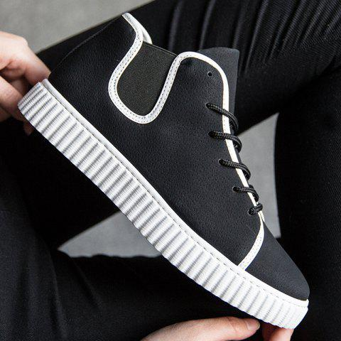 Tie Up Elastic Band Casual Shoes get to buy shopping online free shipping rBGegA