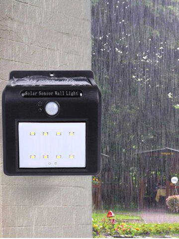 Cheap Waterproof 8 LEDs Solar Powered Motion Sensor Solar Wall Lights - COLORMIX  Mobile