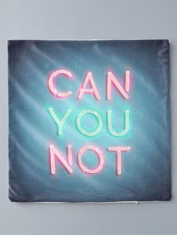 Hot Can You Not Print Short Plush Square Pillow Case - COLORMIX  Mobile