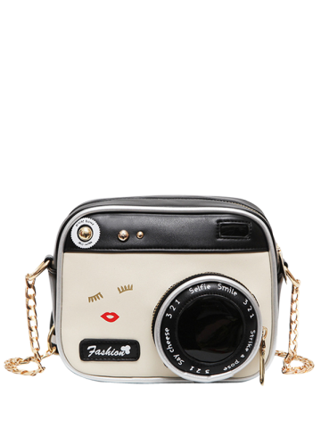 Outfits Chains Camera Shaped Cross Body Bag
