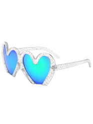 UV Protection Design Heart Shape Beach Sunglasses