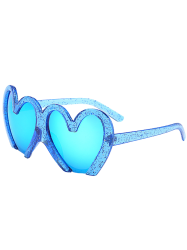 UV Protection Design Heart Shape Sunglasses
