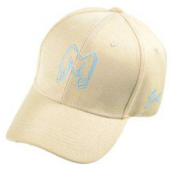 Art Letter Embroidery Baseball Cap