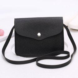 Cross Envelope Mini Body Bag - Noir
