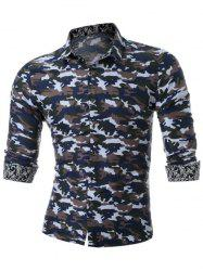 Long Sleeve Camouflage Shirt