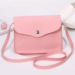 Cross Envelope Mini Body Bag - ROSE PÂLE
