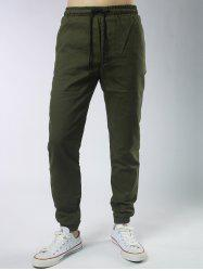 Graphic Drawstring Jogger Pants