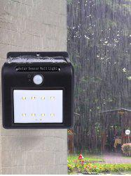 Waterproof 8 LEDs Solar Powered Motion Sensor Solar Wall Lights
