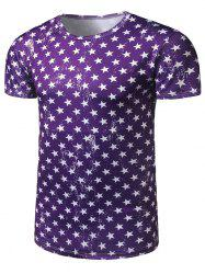 All Over Star Print T-Shirt