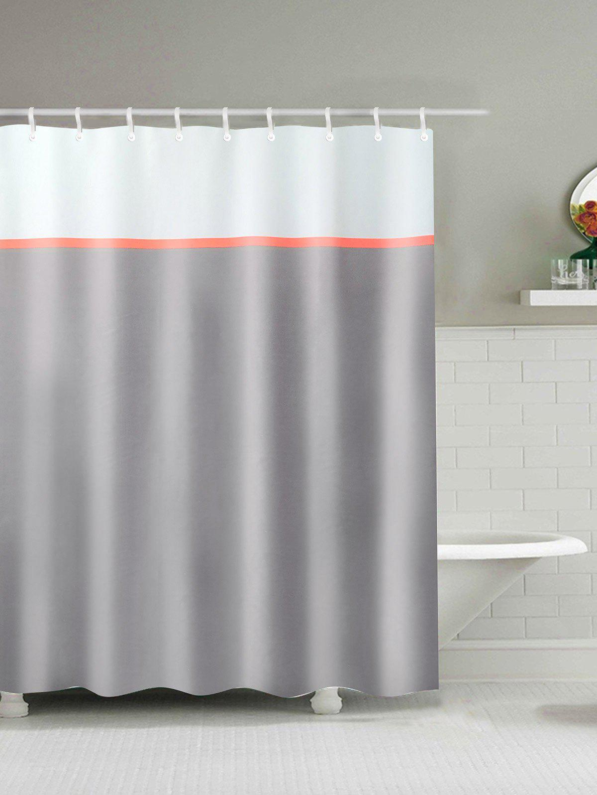 Outfit Waterproof Polyester Shower Curtain