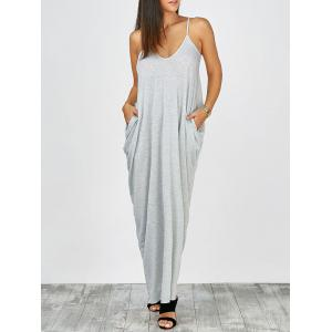 Floor Length Beach Slip Dress