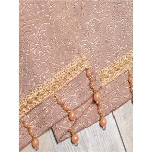 Europe Flower Embroidered Sheer Window Screen Tulle -