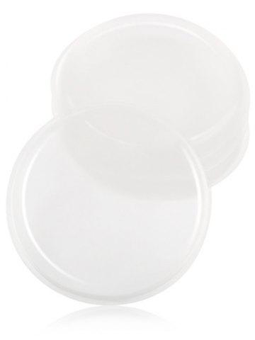 Maange Forme Ronde Maquillage Silicone Sponge Transparent