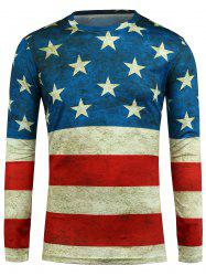 Long Sleeve Star and Stripe T-Shirt