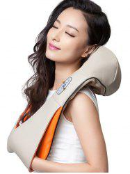 Electrical Shoulder Neck Massager Pillow with US Plug