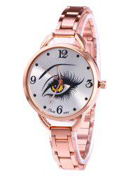 YBOTTI Wrist Quartz Watch with Beauty Eye