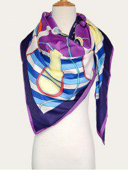 Handbags Print Silk Shawl Scarf