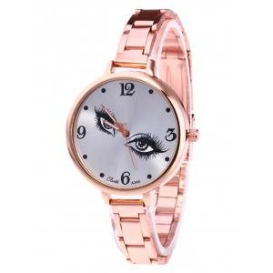 YBOTTI Wrist Quartz Watch with Pretty Eyes