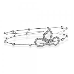 Graceful Rhinestone Bowknot Hairband For Women -