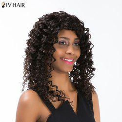 Siv Hair Long Kinky Curly Capless Human Hair Wig