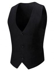 Single Breasted Tie Back Waistcoat