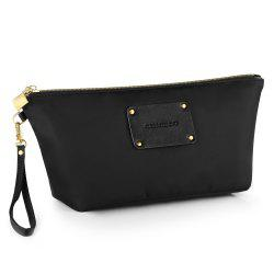 Nylon Clutch Bag with Wristlet