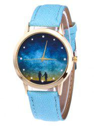 Glitter Strap Starry Sky Quartz Watch