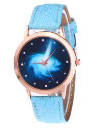 Glitter Strap Starry Vortex Quartz Watch
