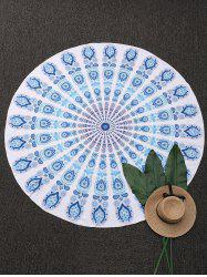 Ethnic Printed Round Beach Throw Cover