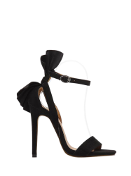 Mini Heel Ankle Strap Sandals