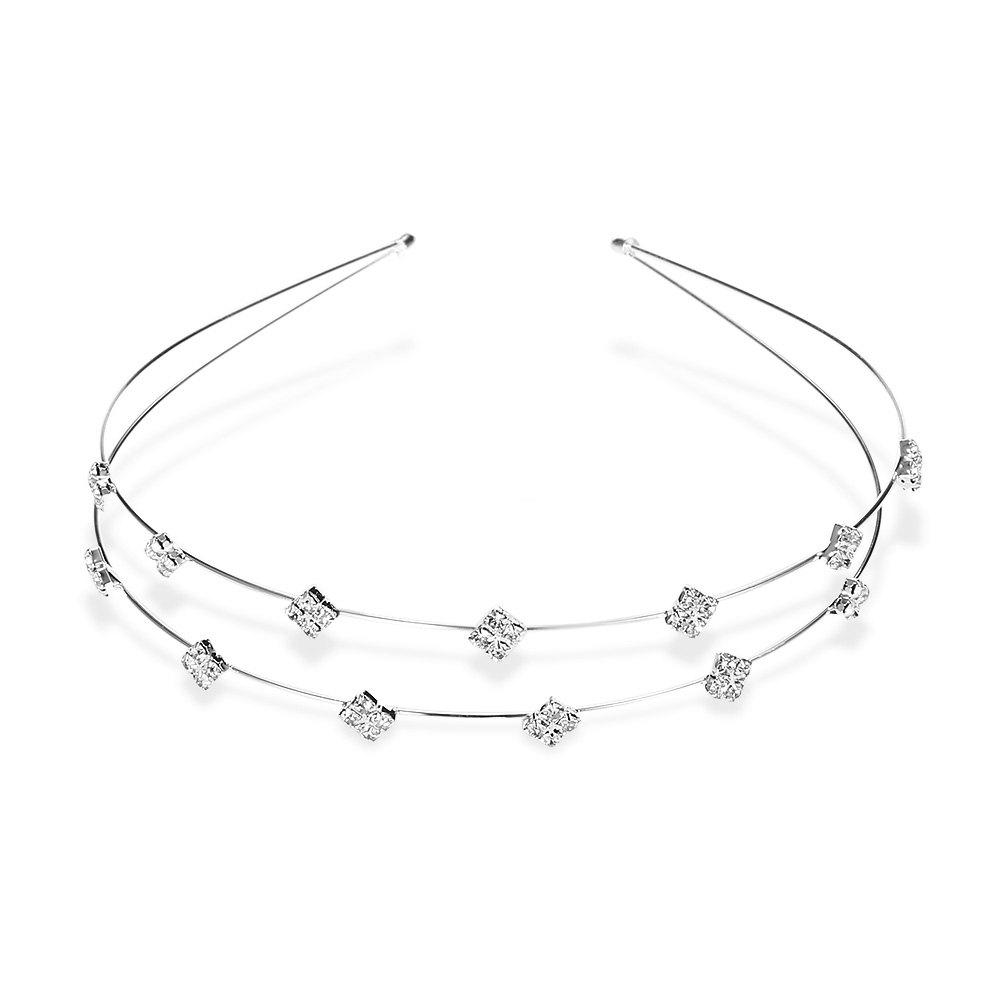 Chic Stylish Rhinestone Rhombus Hairband For Women