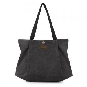 Ruched Canvas Handbags