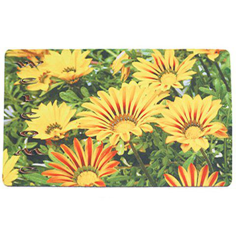 Buy Sunflower Antiskid Soft Absorption Rug - 45*75CM GREEN AND YELLOW Mobile